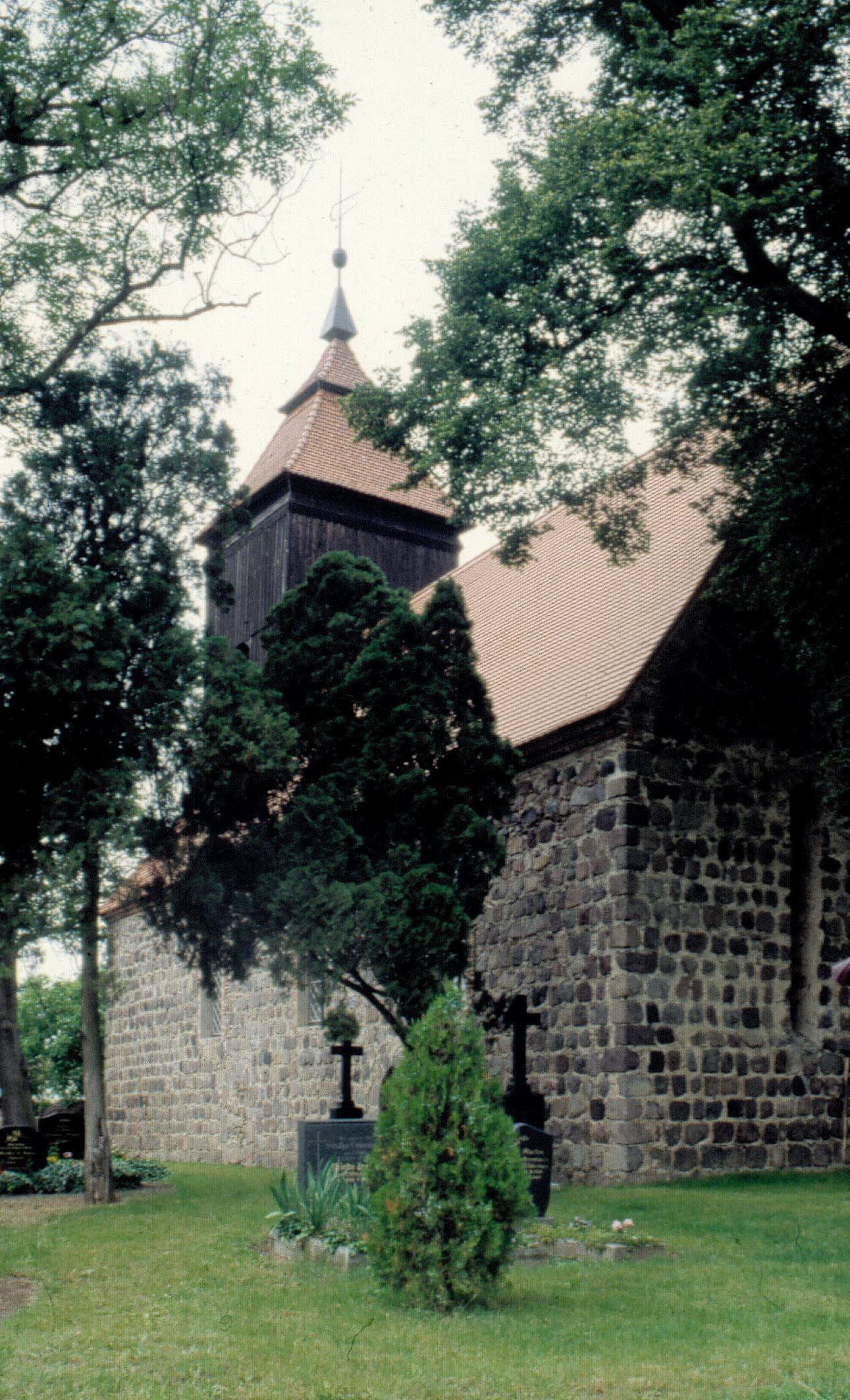 Dorfkirche Melzow - Orgel