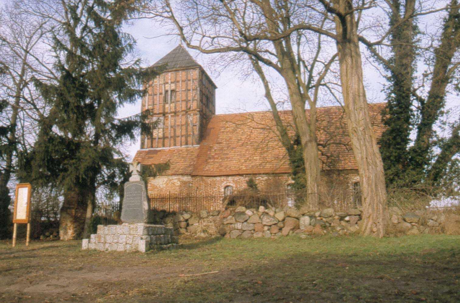 Ein seltenes Juwel ist die Fergitzer Backsteinkirche