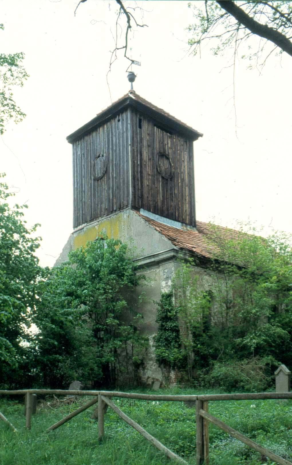 Die Kirche von Küstrinchen schien schon vergessen worden zu sein