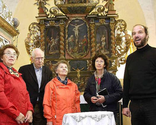 Innenausstattung des Niebendorfer Gotteshauses