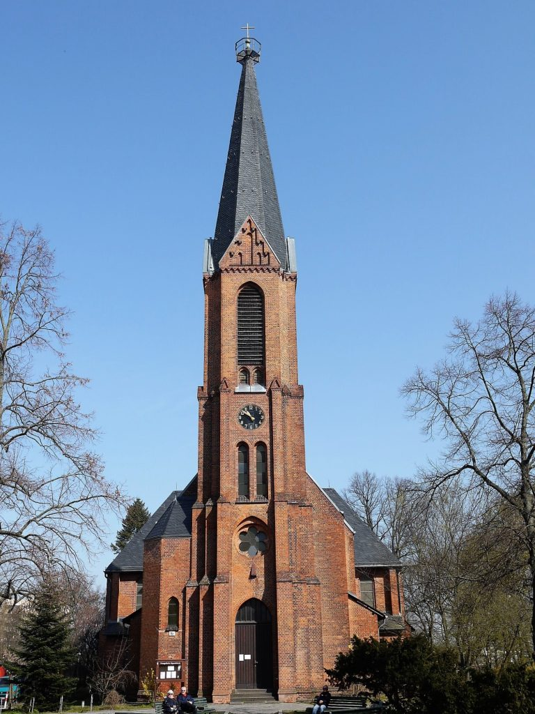 Segens-Kirche Reinickendorf - Förderkreis Alte Kirchen