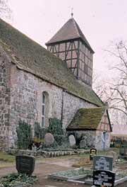 Die Feldsteinkirche von Gandenitz