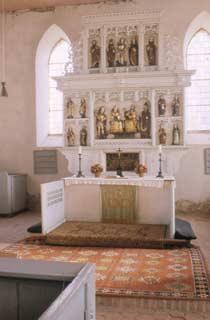 Die Dorfkirche von Jakobshagen