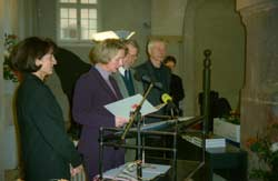 Verleihung des Brandenburgischen Denkmalpflegepreises 2002