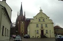 Weil die Sanierung der Heilig Geist Kirche andauert, findet der Gottesdienst in Glindow statt